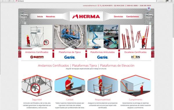 Herma – Andamios Certificados