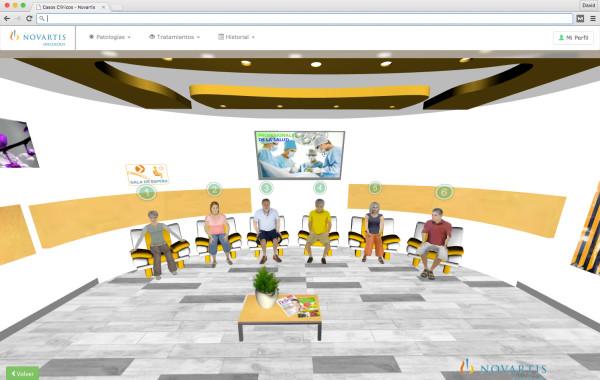 Página web 3D